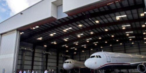 ascent aviation hanger